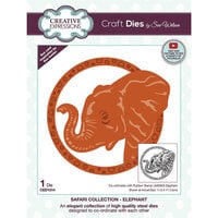 Creative Expressions - Safari Collection - Craft Dies - Elephant