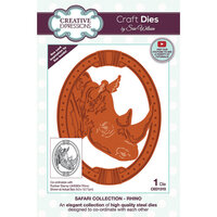 Creative Expressions - Safari Collection - Craft Dies - Rhino
