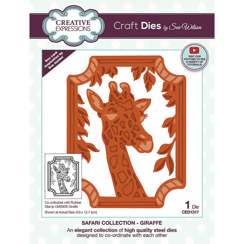 Creative Expressions - Safari Collection - Craft Dies - Giraffe