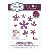 Creative Expressions - Finishing Touches Collection - Dies - Petite Forget Me Nots