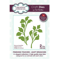 Creative Expressions - Finishing Touches Collection - Dies - Leafy Branches