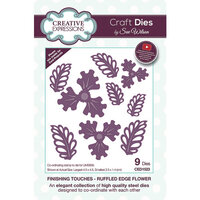 Creative Expressions - Craft Dies - Ruffled Edge Flower