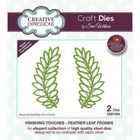 Creative Expressions - Craft Dies - Feather Leaf Fronds