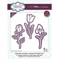 Creative Expressions - Craft Dies - Elegant Flower Trio