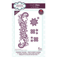 Creative Expressions - Finishing Touches Collection - Dies - Star Flower Flourish