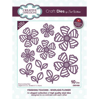 Creative Expressions - Finishing Touches Collection - Craft Die - Whirligig Flower