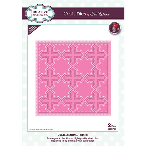 Creative Expressions - Quiltessentials Collection - Dies - Stars