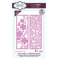 Creative Expressions - Craft Dies - Floral Panels - Flowering Dogwood
