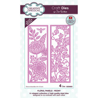 Creative Expressions - Craft Dies - Floral Panels - Peony