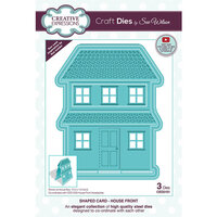 Creative Expressions - Craft Dies - Shaped Cards - House Front