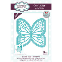 Creative Expressions - Craft Dies - Shaped Cards - Butterfly