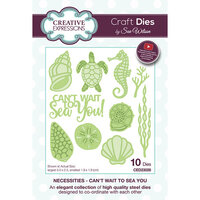Creative Expressions - Necessities Collection - Dies - Can't Wait to Sea You