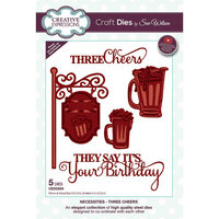 Creative Expressions - Craft Dies - Three Cheers