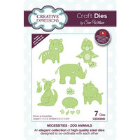 Creative Expressions - Necessities Collection - Dies - Zoo Animals
