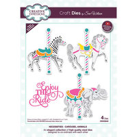 Creative Expressions - Necessities Collection - Craft Die - Carousel Animals