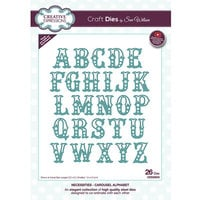 Creative Expressions - Necessities Collection - Craft Die - Carousel Alphabet