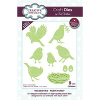Creative Expressions - Necessities Collection - Craft Die - Robin Family