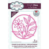 Creative Expressions - Craft Dies - Stained Glass - Chrysanthemum Circles