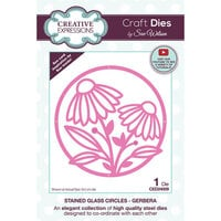 Creative Expressions - Craft Dies - Stained Glass - Gerbera Circles
