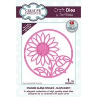 Creative Expressions - Craft Dies - Stained Glass - Sunflower Circles