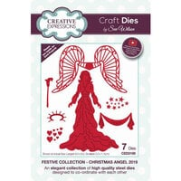 Creative Expressions - Festive Collection - Craft Die - Christmas Angel 2019