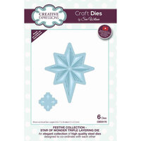 Creative Expressions - Christmas - Festive Collection - Triple Layering Craft Die - Star Of Wonder