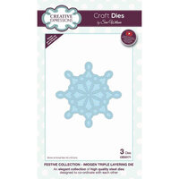 Creative Expressions - Christmas - Festive Collection - Triple Layering Craft Die - Imogen