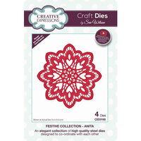 Creative Expressions - Christmas - Festive Collection - Craft Die - Anita