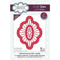 Creative Expressions - Christmas - Festive Collection - Craft Die - Marie