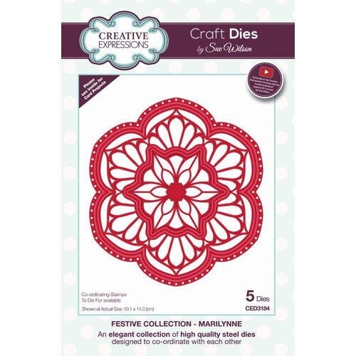 Creative Expressions - Christmas - Festive Collection - Craft Die - Marilynne