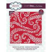 Creative Expressions - Christmas - Festive Collection - Craft Die - Stardust Background