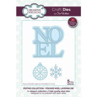 Creative Expressions - Christmas - Festive Collection - Layering Craft Die - Stacked Noel