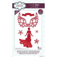 Creative Expressions - Christmas - Festive Collection - Craft Die - Festive Angel 2020