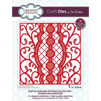 Creative Expressions - Christmas - Festive Endless Options Collection - Craft Die - Bauble Background