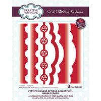 Creative Expressions - Festive Endless Options Collection - Christmas - Craft Die - Bauble Edger