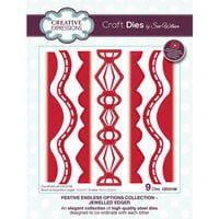 Creative Expressions - Christmas - Festive Endless Options Collection - Craft Die - Jeweled Edger