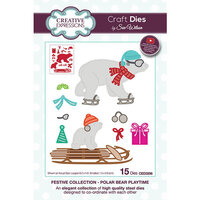 Creative Expressions - Christmas - Festive Collection - Craft Die - Polar Bear