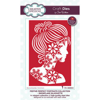 Creative Expressions - Christmas - Festive Perfect Portraits Collection - Craft Die - Snowflake Silhouette