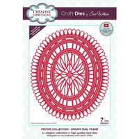 Creative Expressions - Christmas - Craft Die - Ornate Oval Frame