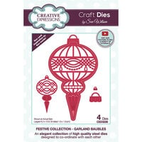 Creative Expressions - Christmas - Craft Dies - Garland Baubles