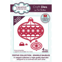 Creative Expressions - Christmas - Craft Dies - Sparkle Baubles