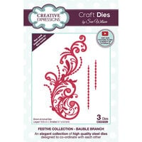 Creative Expressions - Christmas - Craft Dies - Bauble Branch