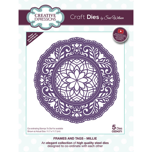 Creative Expressions - Frames and Tags Collection - Dies - Millie
