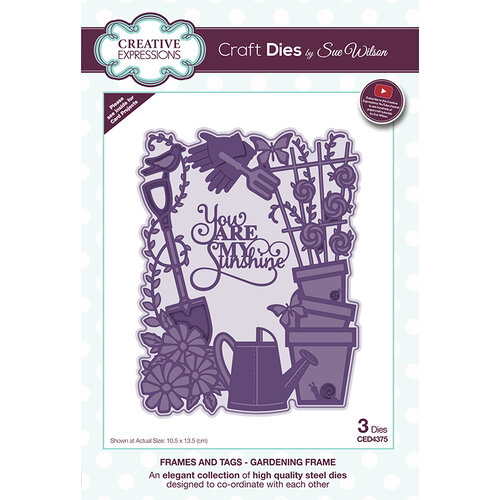 Creative Expressions - Frames and Tags Collection - Dies - Gardening Frame