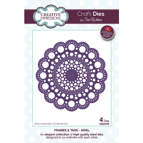 Creative Expressions - Frames and Tags Collection - Dies - Ariel