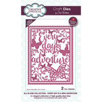 Creative Expressions - All In One Collection - Craft Die - Every Day Is A New Adventure