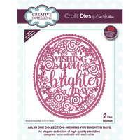 Creative Expressions - All In One Collection - Craft Die - Wishing You Brighter Days