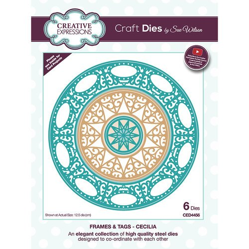 Creative Expressions - Frames and Tags Collection - Craft Die - Cecilia