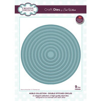 Creative Expressions - Noble Collection - Dies - Double Stitched Circles