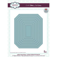 Creative Expressions - Noble Collection - Craft Die - Clipped Corner Rectangles